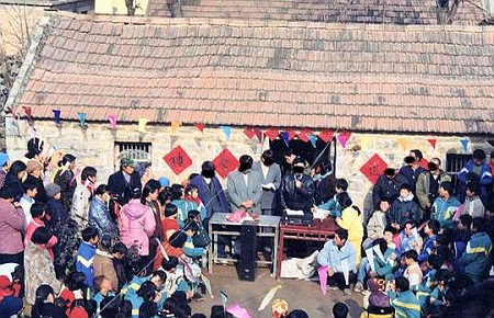 A house church in China- their existence is threatened.