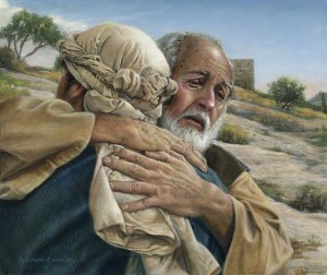 A painting of the prodigal son