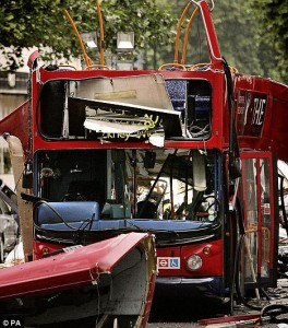 How can we possibly explain that men would do such a thing? London bombings 7/7 Tavistock Square, London