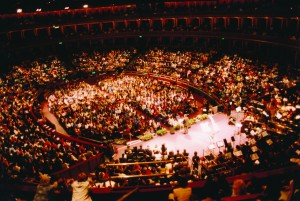 KT returned to the Royal Albert Hall for a Revival Healing Meeting on Easter Monday 1999.