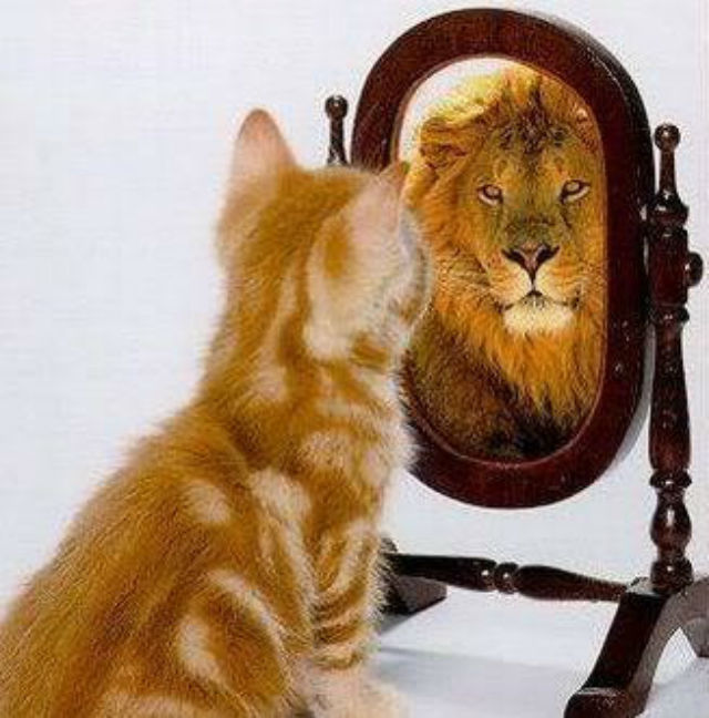 Always see yourself as who you are in Christ