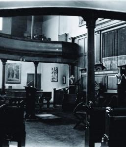 Interior of KT in 1965.