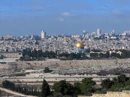 Jerusalem view from the mount of olives
