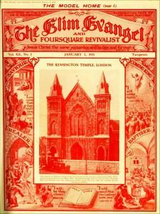 George Jeffreys took over the Horbury Chapel building in 1931, renaming it Kensington Temple.