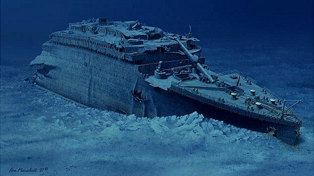 Ocean explorer Robert Ballard, who is responsible for the discovery of the Titanic shipwreck, says he may have discovered evidence of the Great Flood described in the Book of Genesis.