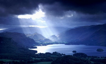 The Lake District in Northern England is one of the most beautiful parts of the British Isles. I know a certain place in one particularly striking corner of this countryside, surrounded by hills and mountains, valleys, lakes and streams.