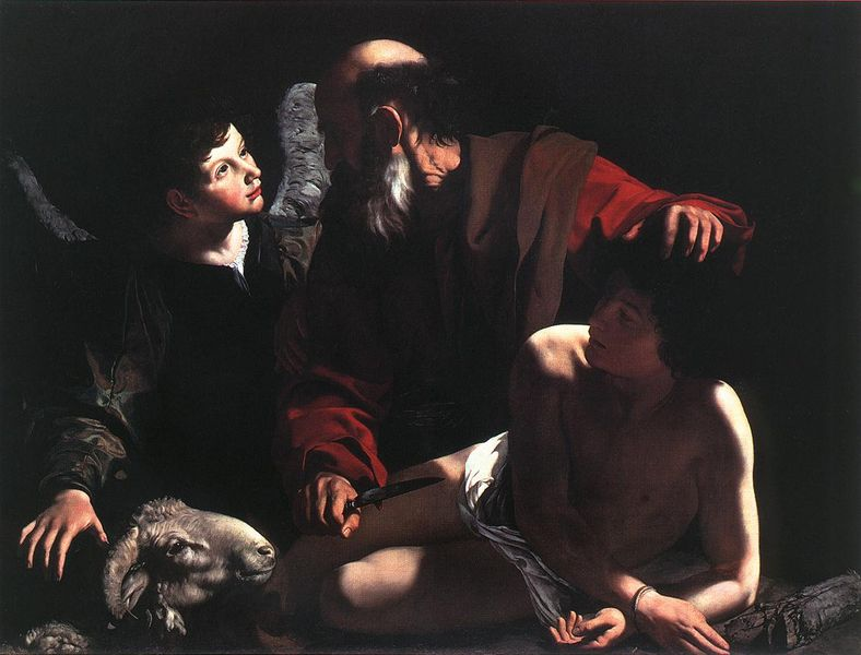 The Sacrifice of Isaac, a painting by Caravaggio