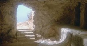 The empty tomb speaks of the resurrection of our Lord, who came in the flesh, died in the flesh and was risen for evermore