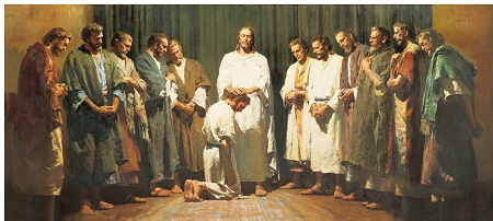 To reach the multitudes Jesus actually turns from them to his 12 disciples