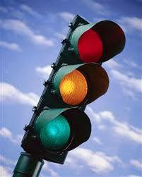 Wait for the green light- God's will for your life.